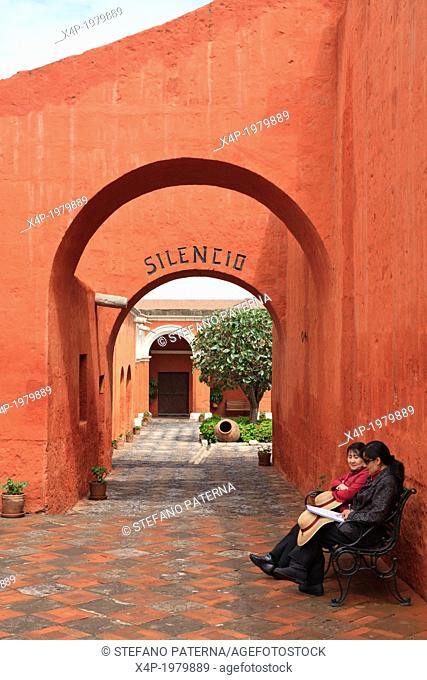 The Monastery of Saint Catherine, Arequipa, Peru