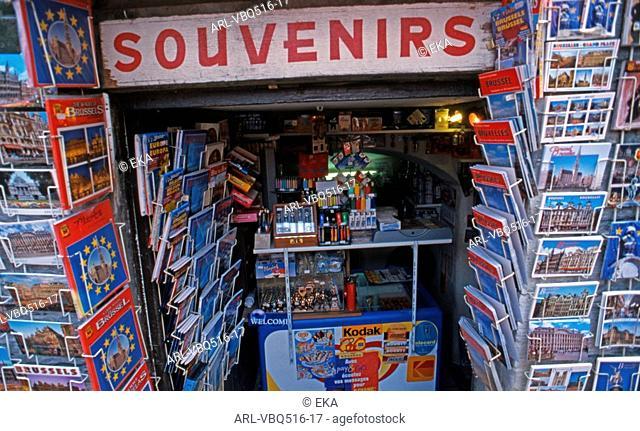 Souvenir shop Brussels