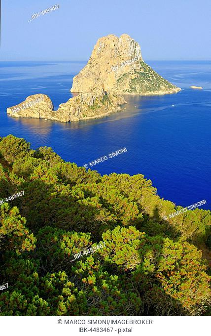 Es Vedra Island, Ibiza, Balearic Islands, Spain