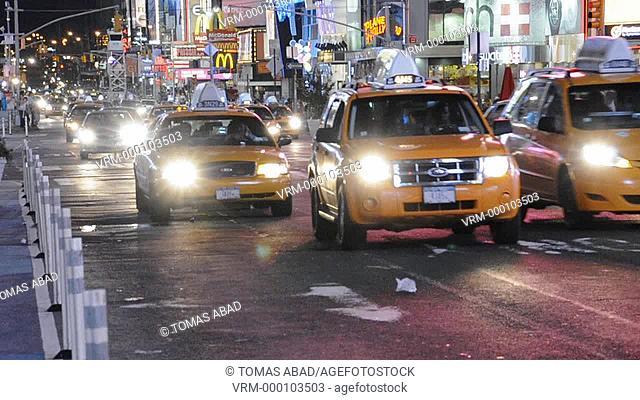 42nd Street, Times Square, New York City, USA