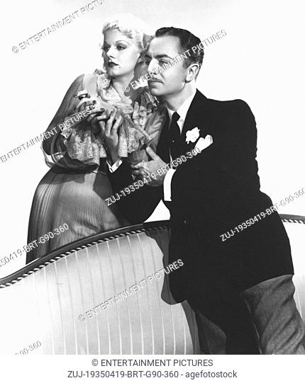 RELEASE DATE: April 19, 1935. MOVIE TITLE: Reckless. STUDIO: Metro-Goldwyn-Mayer (MGM). PLOT: Broadway singer Mona Leslie is wooed and wedded by monied playboy...