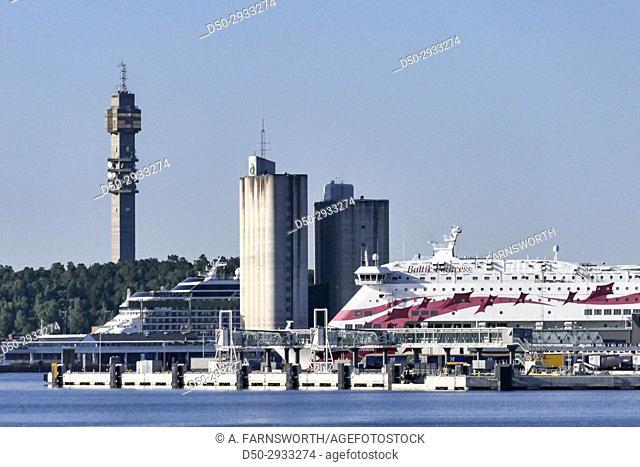 STOCKHOLM, SWEDEN Ferry port known as Frihamnen