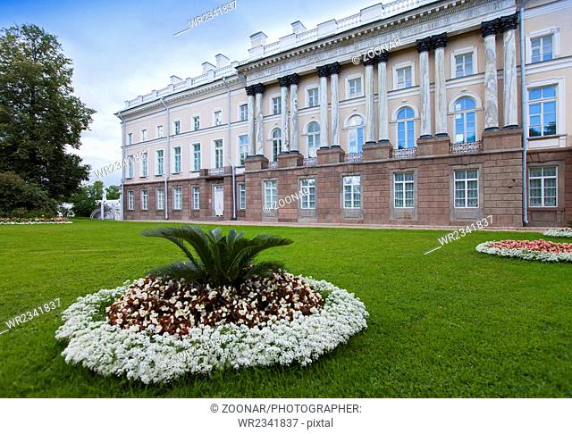 the Zubov wing of the Big palace. Catherine Park
