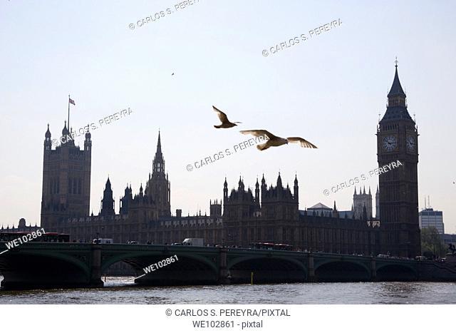The Parliament and Big Ben, London, Great Britain, UK