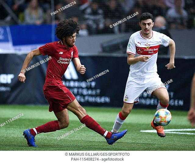 Main tournament / pro tournament: Remi Savage (Liverpool FC), single action, cut out. GES / Football / Indoor Competition: Mercedes-Benz JuniorCup 2019, 05