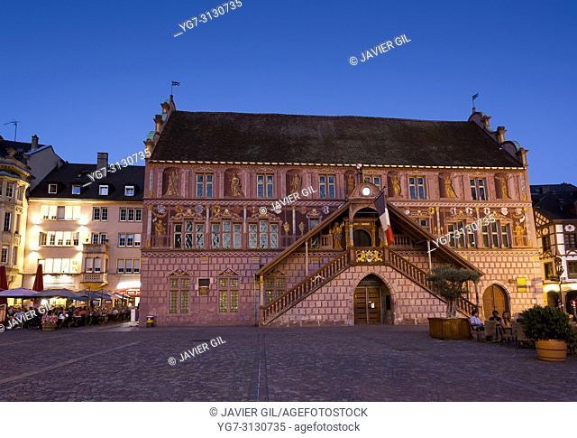 City hall, Mulhouse, Haut-Rhin, Grand Est, France