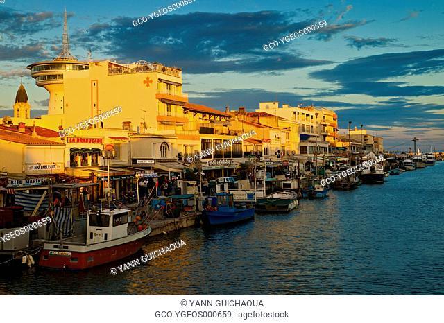 Palavas's Harbour, Herault,Languedoc-Roussillon, France