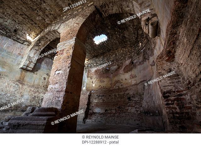 Interior of Selcuk Castle; Ephesus, Turkey