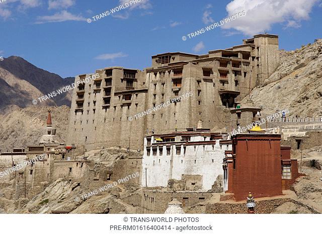 Lhakhang Marpo Temple, Leh, Jammu and Kashmir, India / Lhakhang Marpo Tempel, Leh, Jammu und Kashmir, Indien