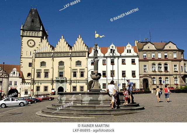 Market place, Telc, Czech Republic