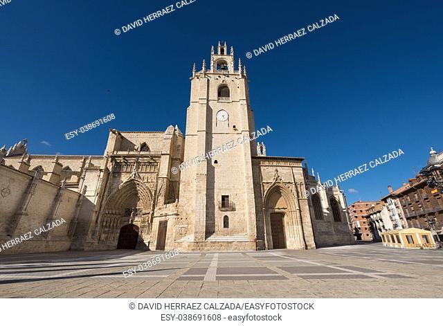 Palencia cathedral, Castilla y Leon, Spain