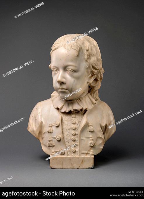 John Barnard. Artist: John Michael Rysbrack (Flemish, Antwerp 1694-1770 London); Date: 1744; Culture: British, London; Medium: Marble; Dimensions: Overall...