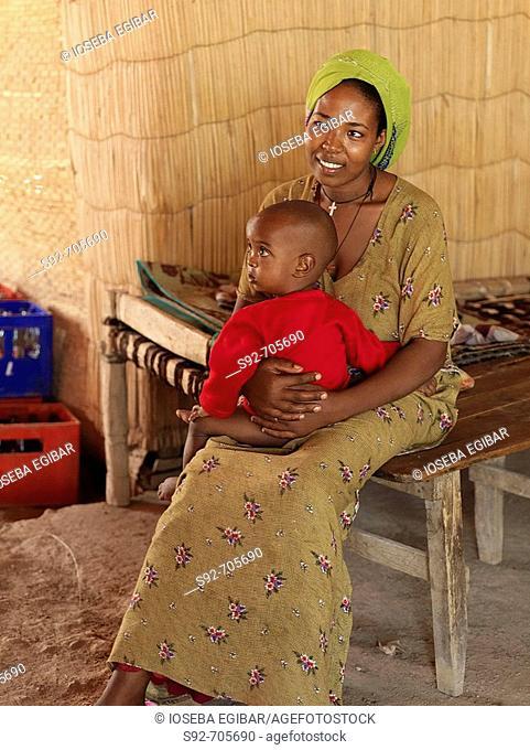 Woman with child, Ethiopia