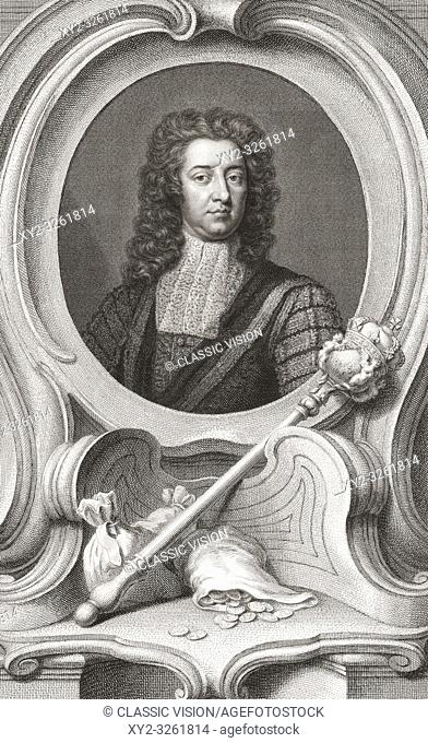 "Henry Boyle, 1st Baron Carleton, 1669 â. "" 1725. Anglo-Irish politician. Lord of the Treasury and Chancellor of the Exchequer"