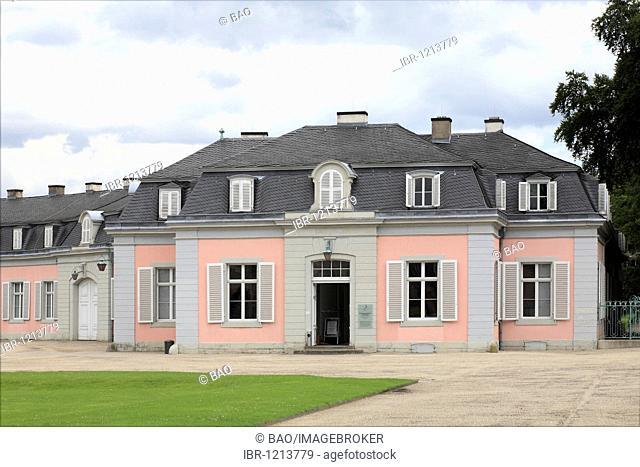 Benrath Castle in Dusseldorf-Benrath, North Rhine-Westphalia, Germany, Europe