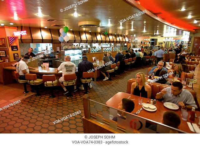 Classic 1950's Diner, Bob's Big Boy, Riverside Drive, Burbank, California