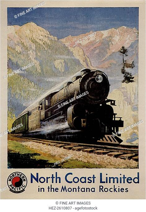 Nort Coast Limited, 1929. Artist: Krollmann, Gustav (1888-1962)