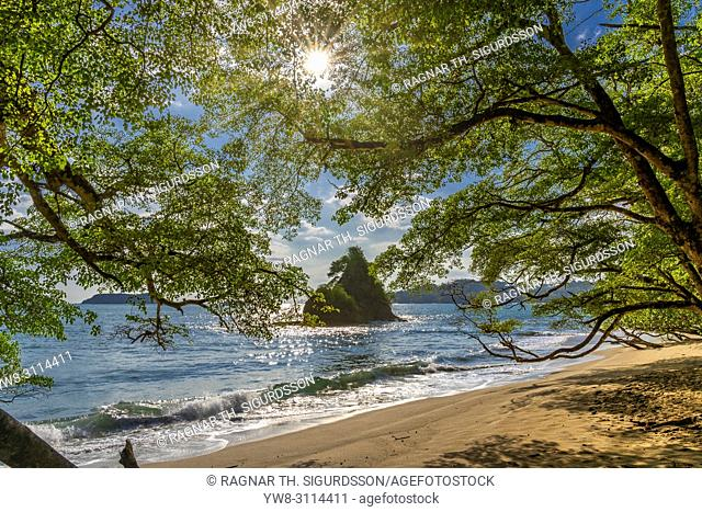Beach, Corcovado National Park, Osa Peninsula, Costa Rica