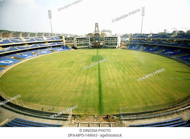 D Y Patil cricket stadium at D Y Patil Vidyanagar campus ; Nerul ; Navi Mumbai ; Maharashtra ; India