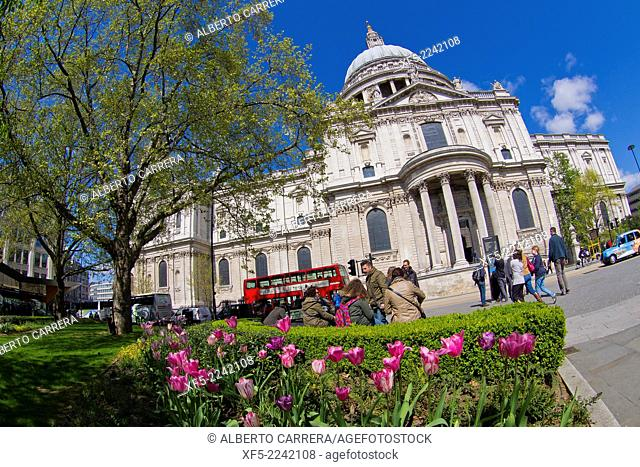 St Paul's Cathedral, London, England, Great Britain, Europe