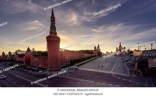 Kremlin view, Moscow
