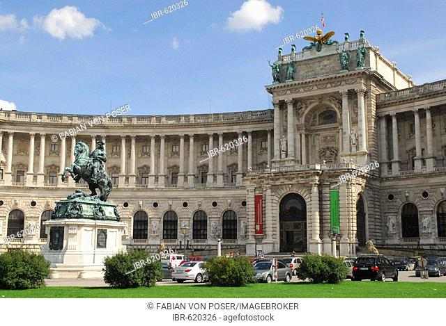 New Gallery at Heldenplatz, Vienna, Austria, Europe