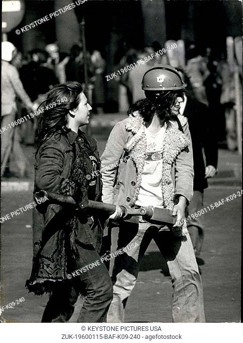 1981 - Student Protest Haby Reform Bastille to Denfert Rochereau (Credit Image: © Keystone Pictures USA/ZUMAPRESS.com)