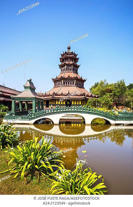 Thailand , Bangkok City, Ancient Siam Park , The Phra Kaew Pavillion