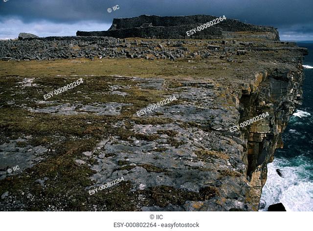 Aran Islands, Inishmore, Dun Aengus, Ireland