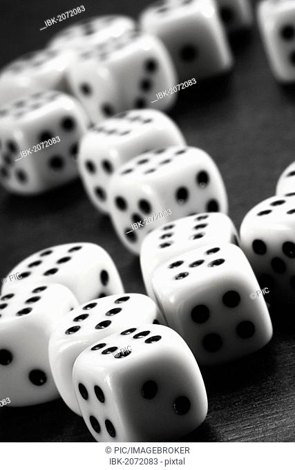 Many dice with sixes