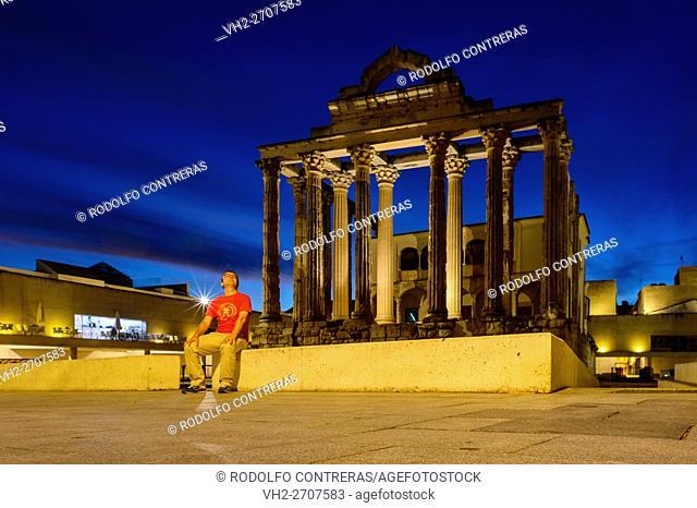 Temple of Diana, Mérida