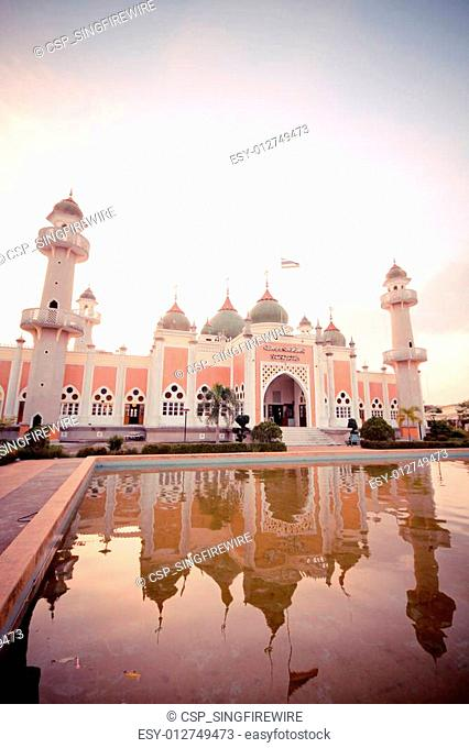 Mosque of Islam. pattani Province, Thailand