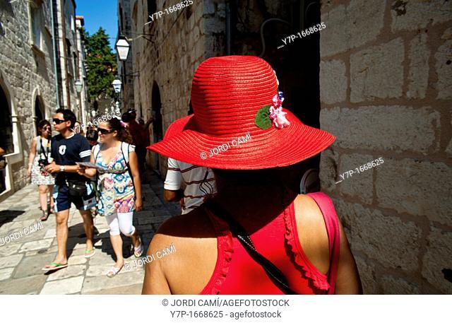 Narrow street, Old Town, Dubrovnik  Croatia