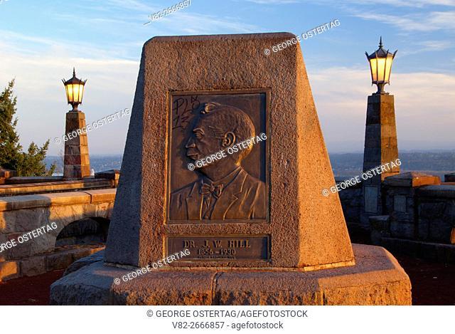 JW Hill Monument, Joseph Wood Hill Park, Portland, Oregon