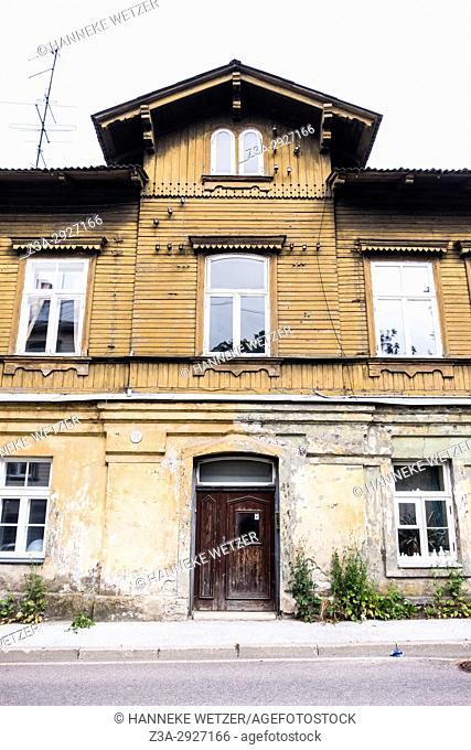 Traditional mansions in Tallinn, Estonia, Europe