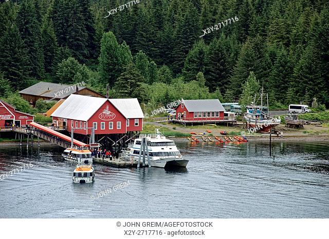 Icy Straight Point historic cannery, Hoonah, Alaska, USA