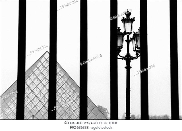 Louvre Museum, Paris. France