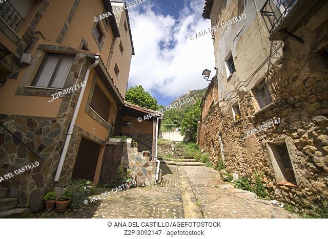 Poza de la Sal is an ancient village in Burgos province, Castile and Leon, Spain