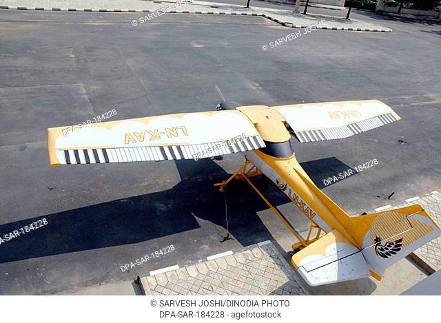 Model of aircraft in Ramoji Film City hyderabad andhra pradesh India