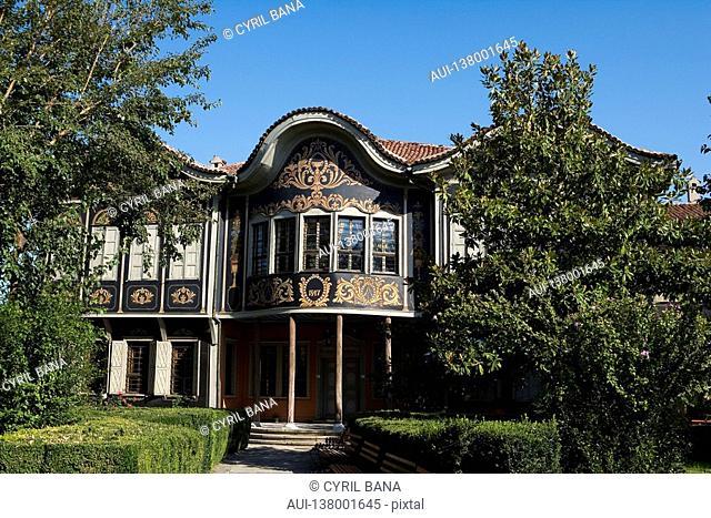 Bulgaria - North-West Region - Rhodope Mountains - Plovdiv - Old City - Ethnographic Museum former Koyumdjioglu home