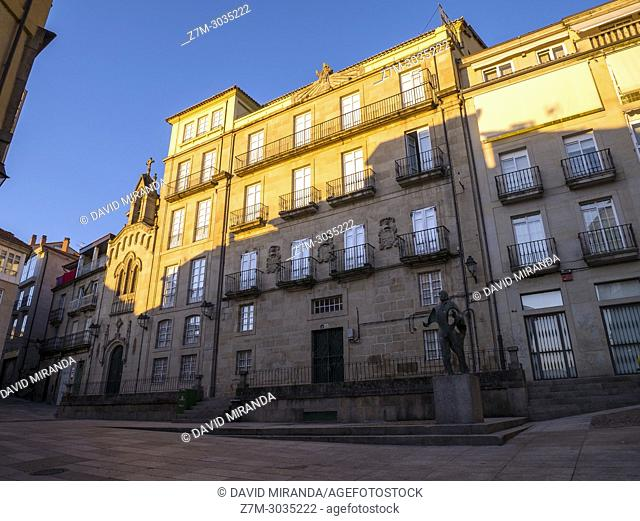 Plaza del Corregidor. Ourense. Galicia. Spain
