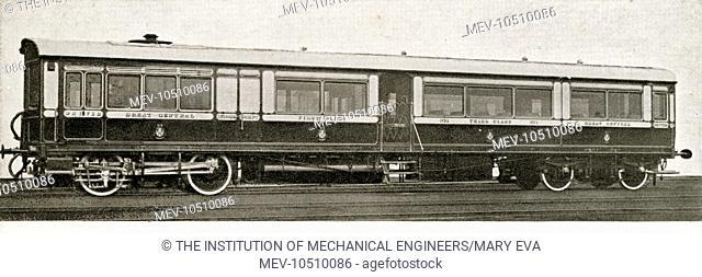 Steam rail motor coach no 1