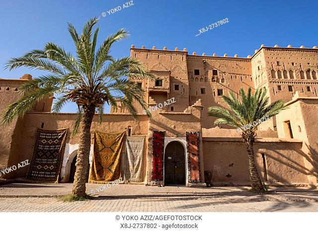 Morocco, Ouarzazate, kasbah Taourirt