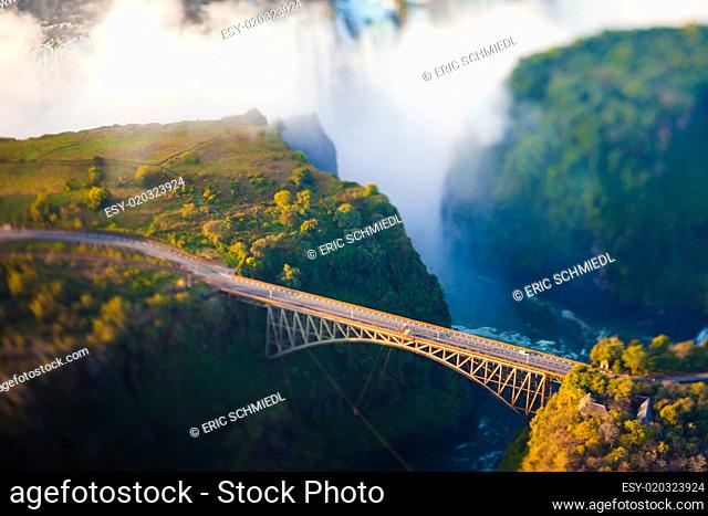 Bridge over Victoria Falls