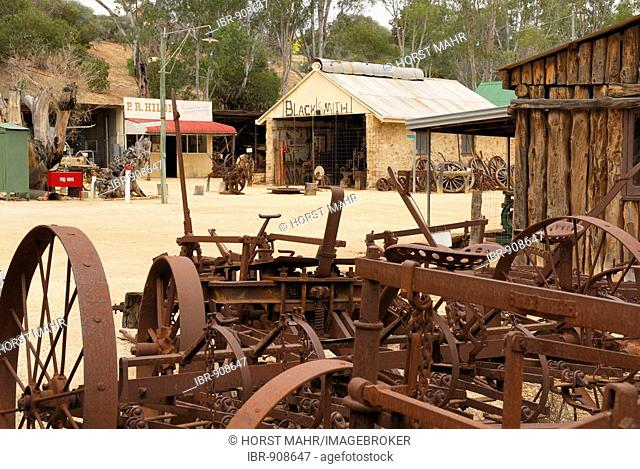 Museum village of Loxton near Berri, South Australia, Australia