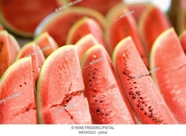 Weekly Tuesday fruit & vegetable market, Southern Zone of Rio De Janeiro, Praca General Osorio, near Ipanema Beach, Brazil