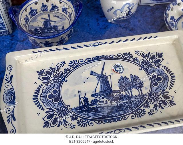 Nedherlands, Handicraft: ceramics of Delft
