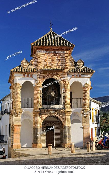 Chapel of the Virgen del Socorro in Plaza del Portichuelo. Antequera. Málaga province. Andalusia. Spain