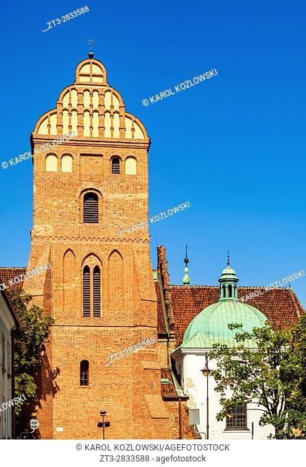 Poland, Masovian Voivodeship, Warsaw, New Town, St. Mary's Church