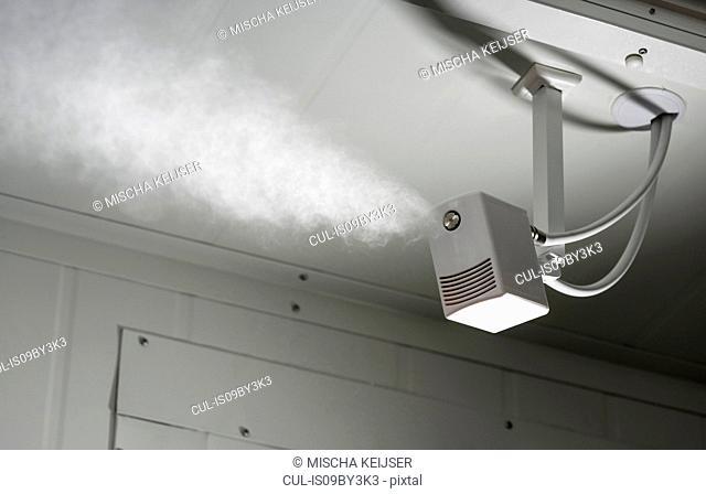 Humidifier in data center